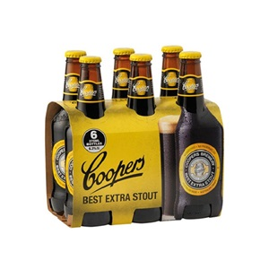 Picture of Coopers Extra Stout 6pk 375ml