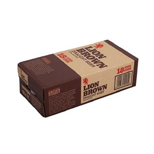 Picture of Lion Brown 18pk Cans 330ml
