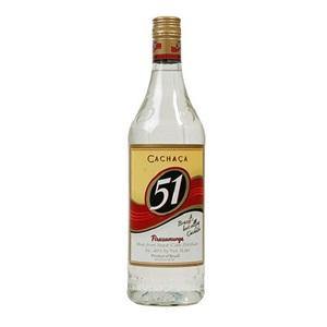 Picture of Cachaca 51 Pirassununga Cane Spirit 1000ml