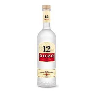 Picture of Ouzo 12 Aperitif 38% 700ml