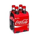 Picture of Coke Glass 4pk 330ml Btls