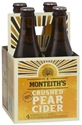 Picture of Monteiths Pear Cider 4pk Btls 330ml