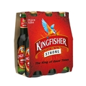 Picture of KingFisher Strong Lager 6pk Bottles 330ml