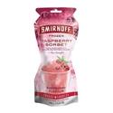 Picture of Smirnoff Frozen Raspberry Sorbet 250ml Pouch each