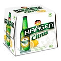 Picture of Haagen 2% Citrus 12pk Bottles 330ml