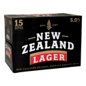 Picture of NZ Lager 15pk 5% Bottles 330ml
