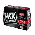 Picture of McKenna 5% Bourbon n Cola 10pk Bottles 330ml