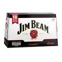Picture of Jim Beam 10pk Bottles 330ml