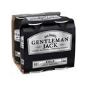 Picture of Gentleman Jack n Cola 4pk Cans 375ml