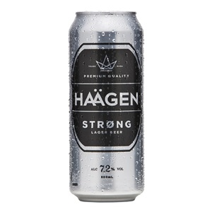 Picture of Haagen Strong 7.2% 500ml Can