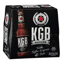 Picture of KGB Black Russian 5% Vodka Premix 12pk Bottles 275ml