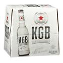 Picture of KGB Lemon Ice 5% Vodka Premix 12pk Bottles 275ml