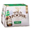 Picture of Wild Moose Canadian Whisky n Dry 12pk Btls 330ml