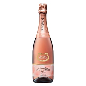 Picture of Brown Brothers Sparkling Moscato Rose 750ml