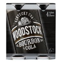 Picture of Woodstock 6% 4pk Cans 420ml