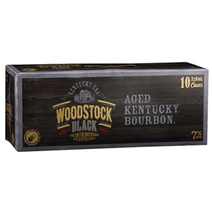 Picture of Woodstock Black Bourbon & Cola 7% 10pk Cans 330ml