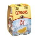 Picture of Gordons G&T 7% 4pk Btls 250ml