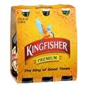 Picture of KingFisher Premium Lager 6pk Btls 5% 330ml