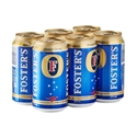 Picture of Fosters Cans 6pk Cans 375ml
