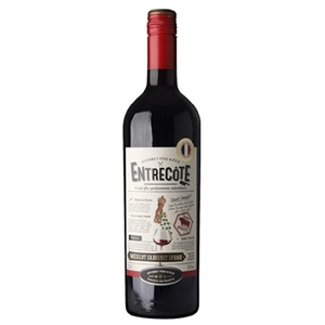 Picture of Entrecote Merlot Cabernet Syrah French Wine 750ml