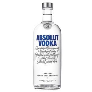 Picture of Absolut Plain Vodka 1 Litre