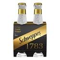 Picture of Schweppes 1783 Crisp Tonic 4pk Bottles 200ml