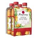 Picture of Tanqueray Sevilla Gin & Soda 4pk Btls 275ml
