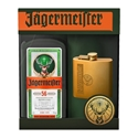 Picture of Jagermeister 700 + Hip Flask Gift Pack