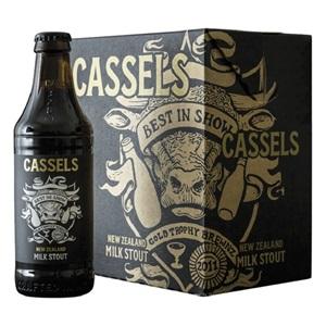 Picture of Cassels Milk Stout 6pk Bottles 328ml