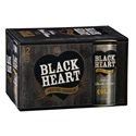 Picture of Black Heart 7% Dark Rum & Cola 12pk Cans 250ml