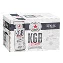 Picture of KGB Lemon Ice 7% Vodka Premix 12pk Cans 250ml