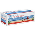 Picture of Long White Crisp Vodka Cranberry 4.5% 10pk Cans 320ml