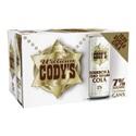Picture of Codys 7% Zero Sugar Cola 12pk cans 250ml