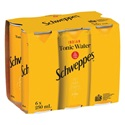 Picture of Schweppes Tonic 6pk Cans 250ml
