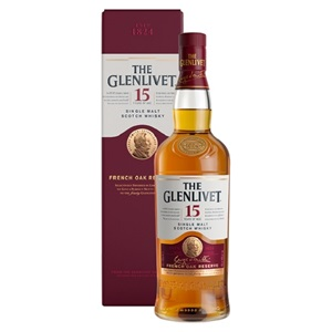 Picture of Glenlivet 15YO Single Malt Scotch Whisky 700ml
