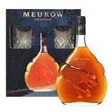 Picture of Meukow VSOP Cognac + 2 Glasses Gift Pack 700ml