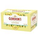 Picture of Gordons Sicilian Lemon Gin & Tonic 4% 12pk Cans 250ml