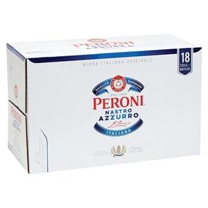 Picture of Peroni Nastro Azzuro 18pk Bottles 330ml