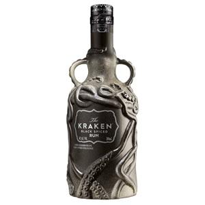Picture of Kraken Black Spiced Rum 2018 Limited Edition Ceramic Bottle 700ml