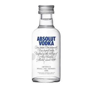 Picture of Absolut Plain Vodka Mini 50ml