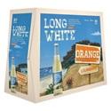 Picture of Long White Vodka Orange 10pk Bottles 320ml