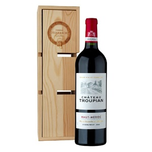 Picture of Chateau Troupian Haut-Medoc + Wine Rack Gift Box 7