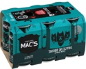 Picture of Mac's 3 Wolves Pale Ale 6pack Cans 330ml