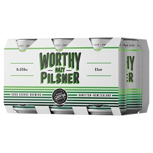 Picture of Good George Hazy Pilsner 6pk Cans 330ml
